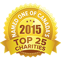 Named one of Canada's top 25 charities