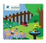 Backyard Habitat Certification sign