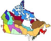 Ecozone map
