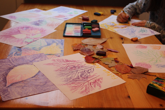 leaf rubbings 13 - 575px