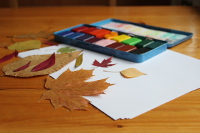 leaf rubbings 3 - 200px