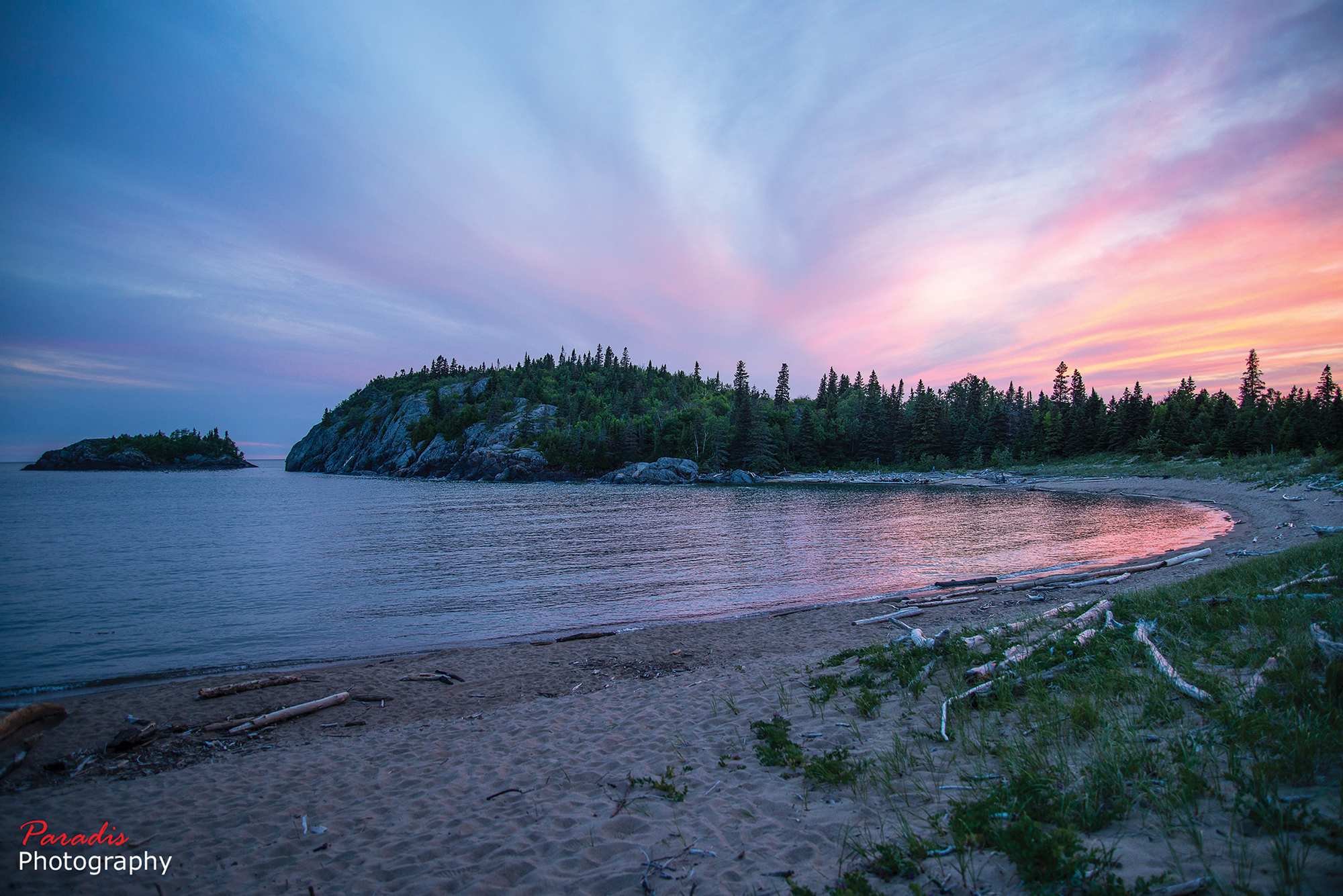 Horseshoe Bay, Pukaskwa National Park, Ontario Desktop