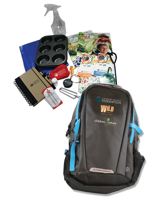 WILD backpack kit