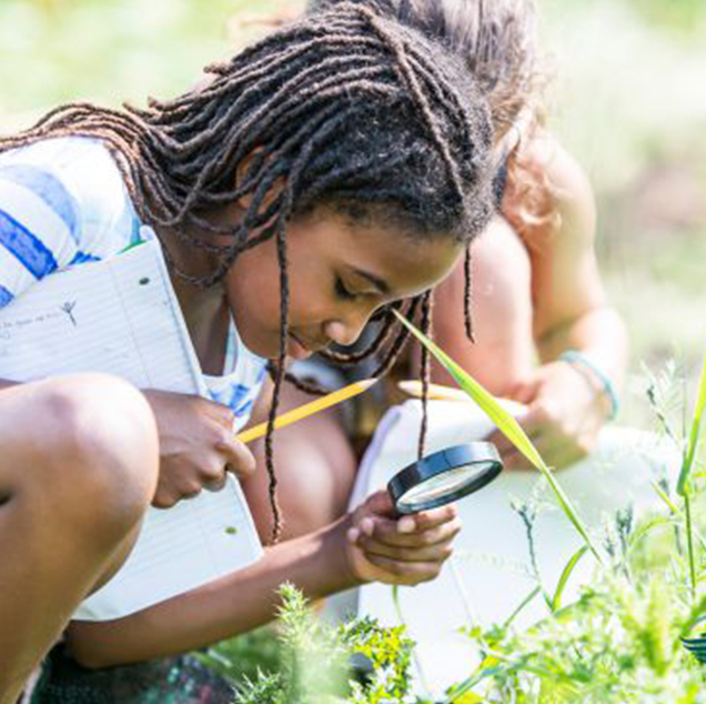 girl explore education