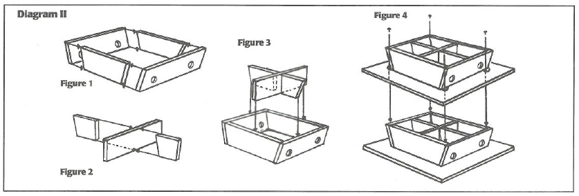 Diagram on how to build a planter box