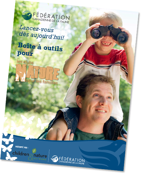 WILD Family Nature Club Program Cover in French