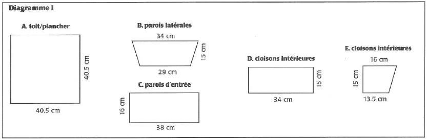 Diagram of planter box pieces