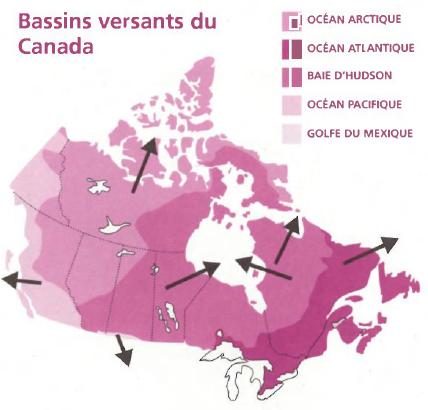 Bassins versants du Canada
